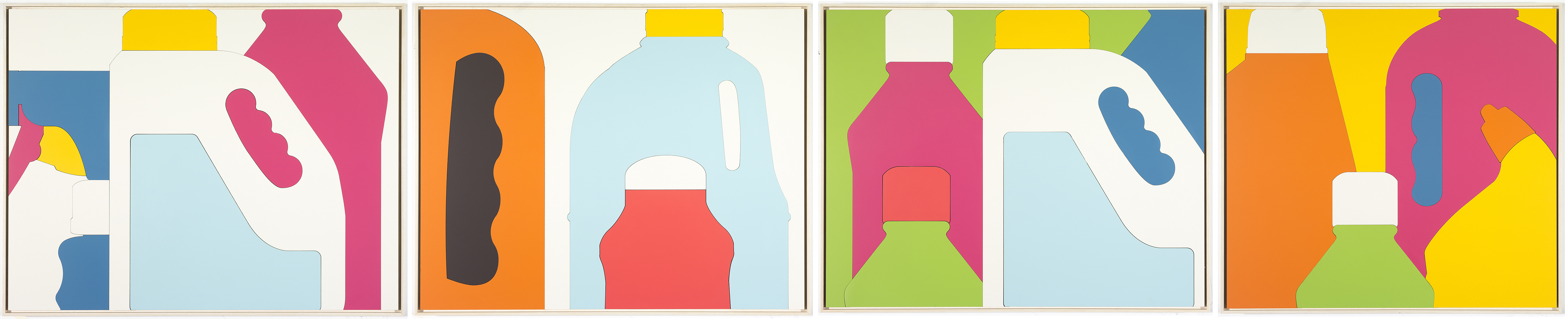 Abstract Bottle Series
