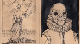Memento Mori #2 (left) and #1 (right)