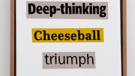 Deep-thinking Cheeseball triumph