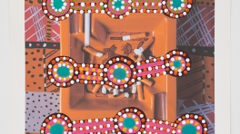 Tony Albert 'Mid Century Modern in Collaboration with Patricia Ward, Warakurna'